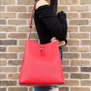 NWT Kate Spade Large Bucket Bag & Crossbody